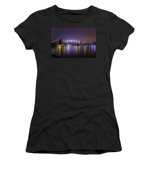 Bright Lights Of New York II Women's T-Shirt
