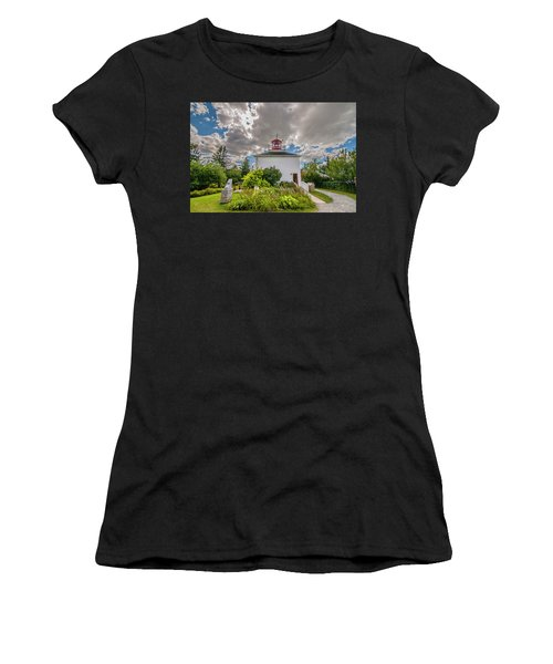 Burntcoast Head Lighthouse  Women's T-Shirt