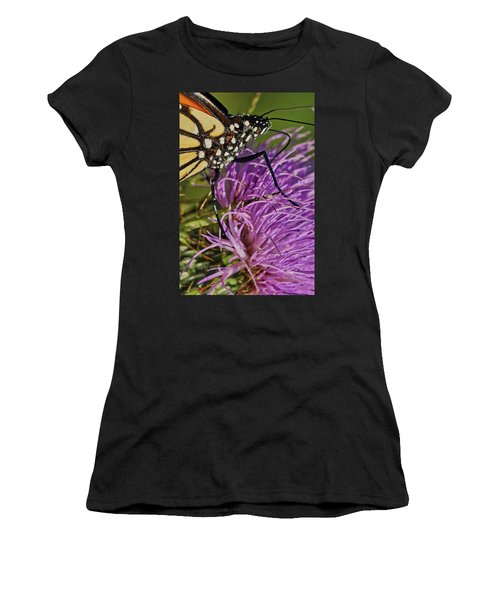 Butterfly Closeup Vertical Women's T-Shirt