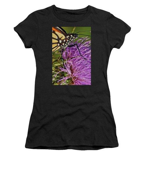 Butterfly Closeup Vertical Women's T-Shirt