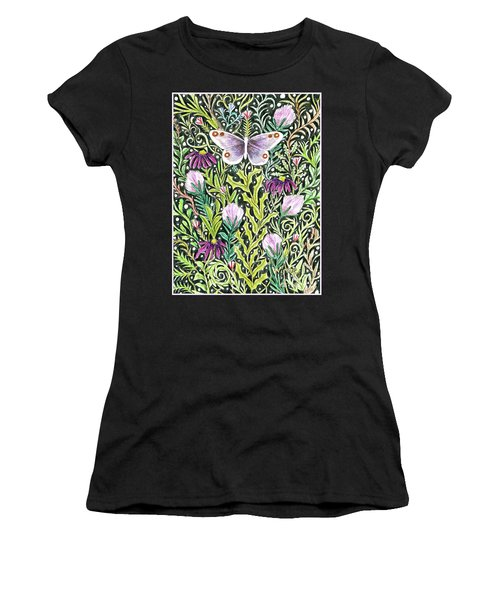 Butterfly Tapestry Design Women's T-Shirt