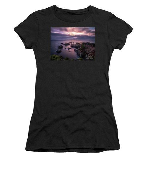 California Coast Evening Mood Women's T-Shirt