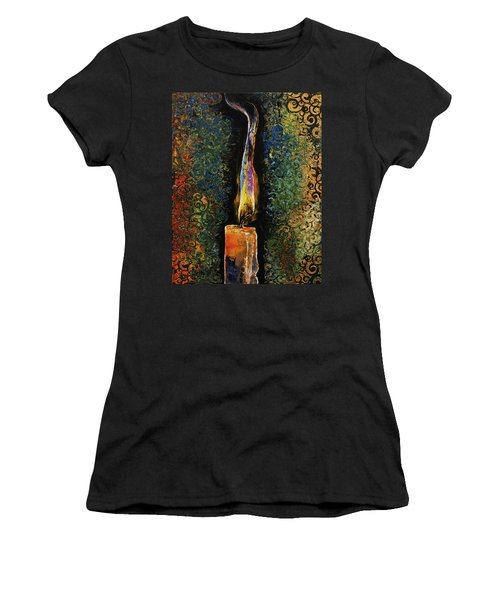 Candle Flame Women's T-Shirt