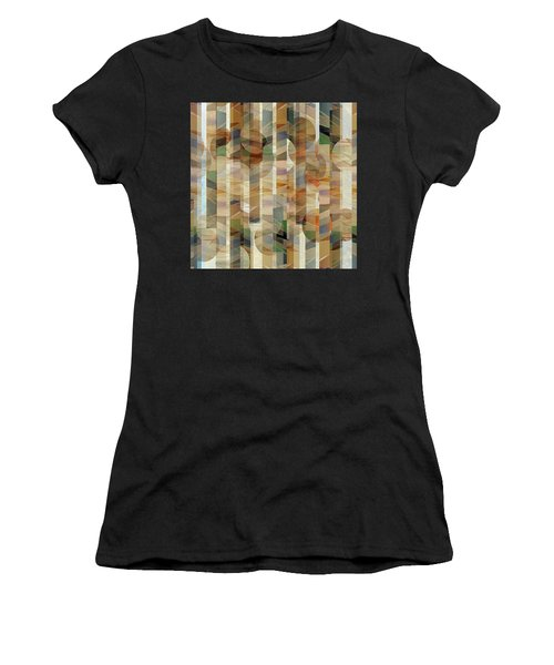 Canyon Circles And Stripes Women's T-Shirt