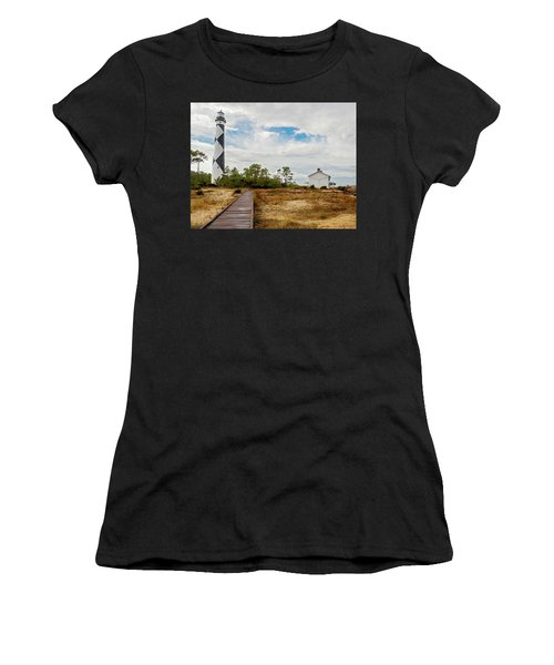 Cape Lookout Lighthouse No. 2 Women's T-Shirt