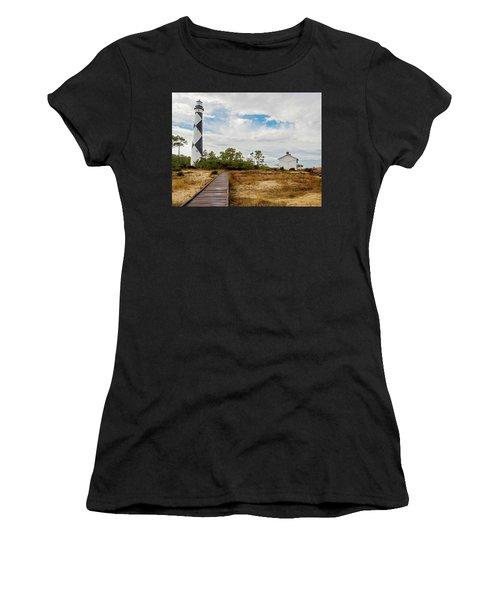Cape Lookout Lighthouse No. 2 Women's T-Shirt