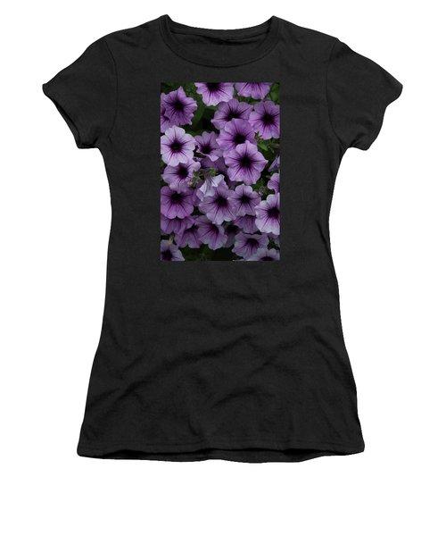 Cascade In Violet Women's T-Shirt