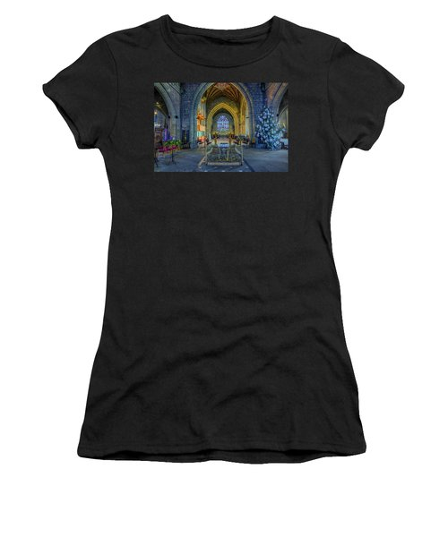 Cathedral At Christmas Women's T-Shirt