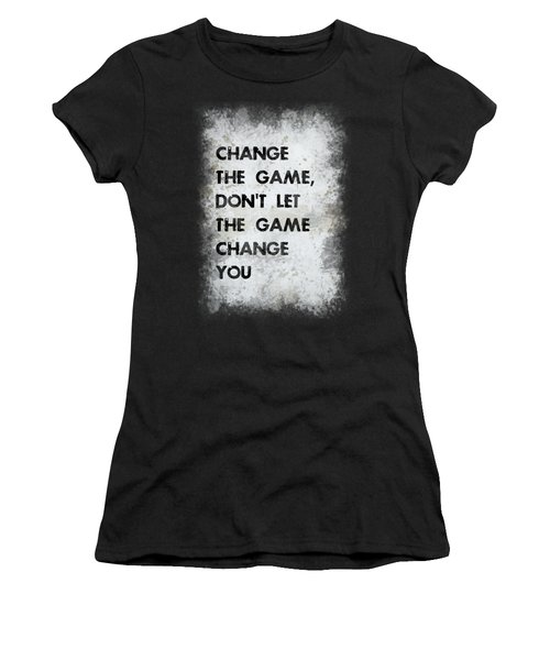 Change The Game Women's T-Shirt