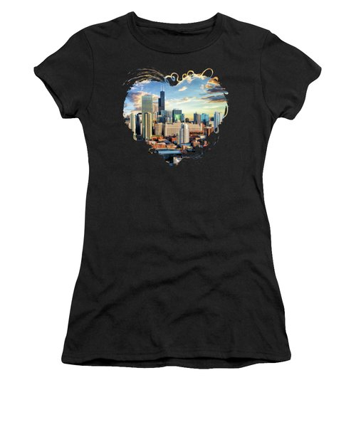 Chicago River North Women's T-Shirt