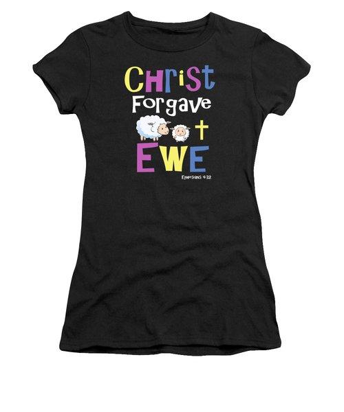 Christian Gifts For Kids Christ Forgave Ewe Women's T-Shirt