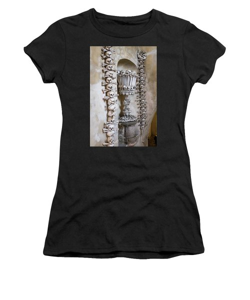 Women's T-Shirt (Athletic Fit) featuring the photograph Church Of Bones by Mark Duehmig