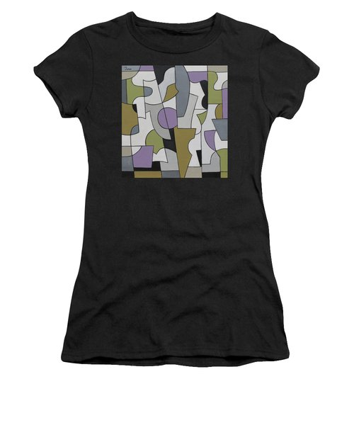 Circuitous Women's T-Shirt (Athletic Fit)