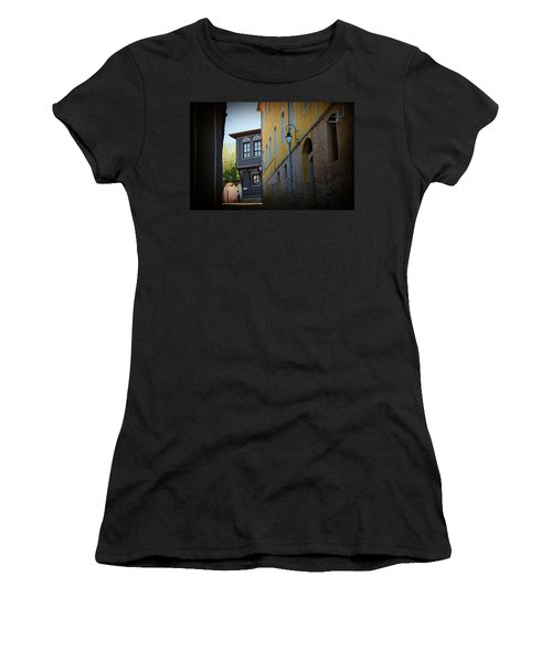 Women's T-Shirt featuring the photograph Close by Milena Ilieva