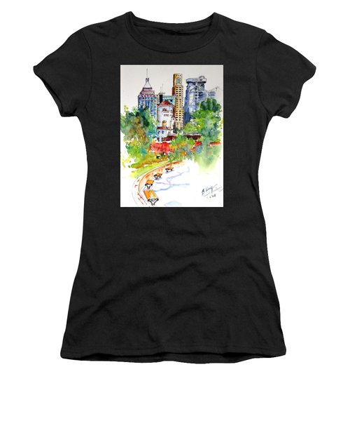 Colonial Vs The Modern In Hong Kong Women's T-Shirt