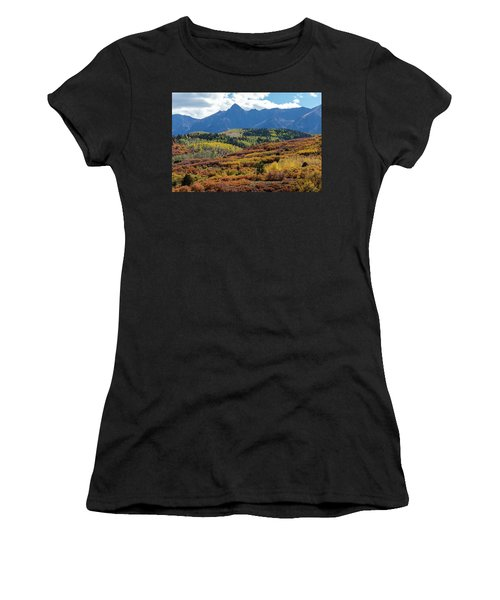 Women's T-Shirt (Athletic Fit) featuring the photograph Colorado Color Bonanza by James BO Insogna