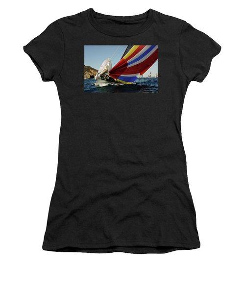 Colorful Spinnaker Run Women's T-Shirt