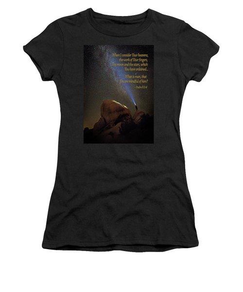 Consider The Heavens Women's T-Shirt