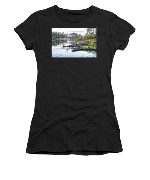 Coosaw - Early Morning Rice Field Women's T-Shirt