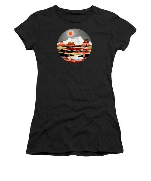 Coral Desert Lake Women's T-Shirt