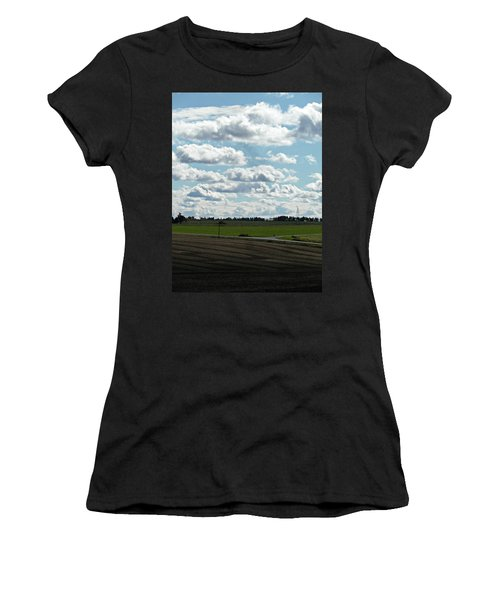 Country Autumn Curves 4 Women's T-Shirt