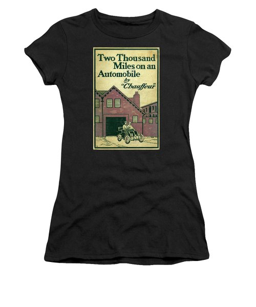 Cover Design For Two Thousand Miles On An Automobile Women's T-Shirt