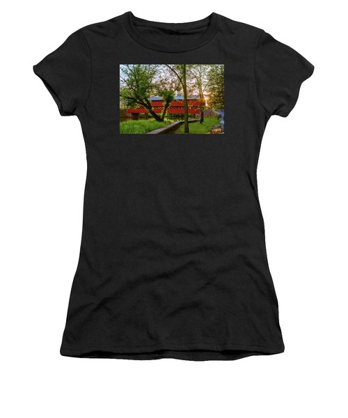 Covered Through Tree Women's T-Shirt