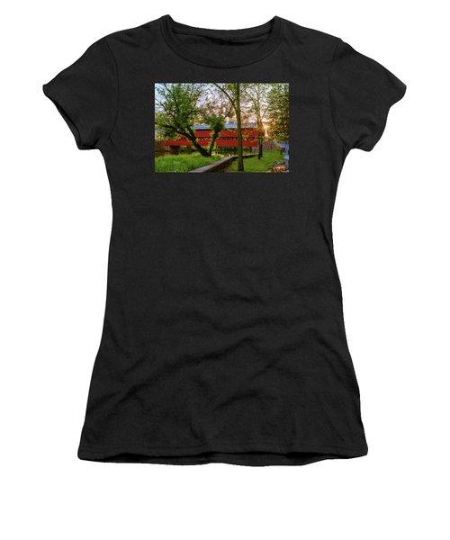 Covered Through Tree Women's T-Shirt