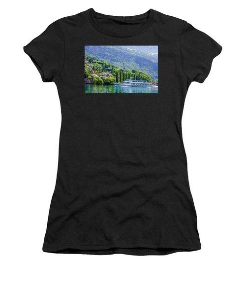 Cruising Lake Lucerne Women's T-Shirt
