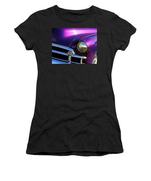 Custom Purple Chevy Women's T-Shirt