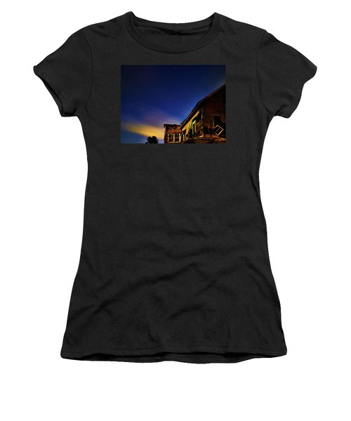 Decaying House In The Moonlight Women's T-Shirt