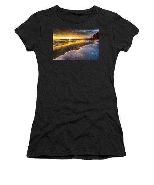 Door County Sunset Women's T-Shirt