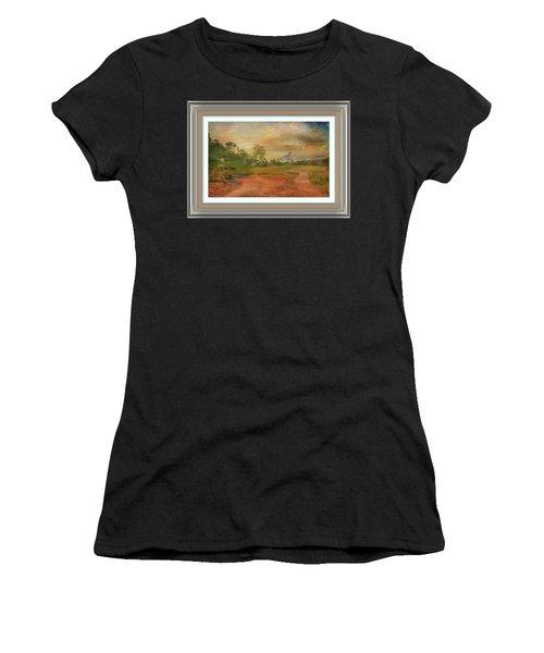 Dusk In The Hills Women's T-Shirt