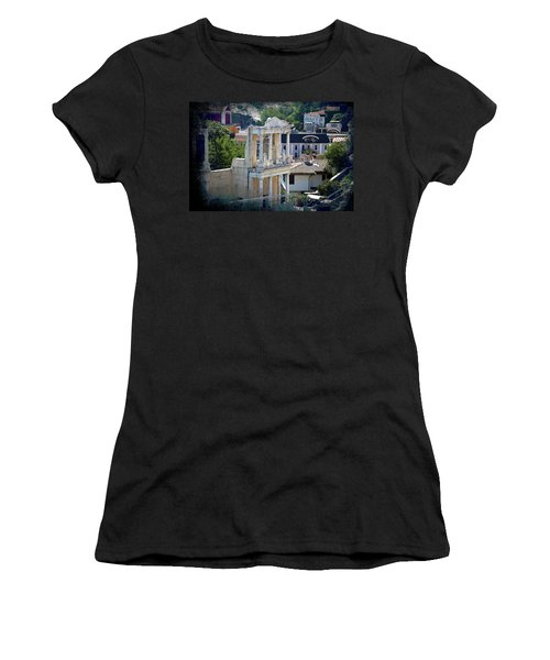 Women's T-Shirt featuring the photograph Echo From The Old Times by Milena Ilieva