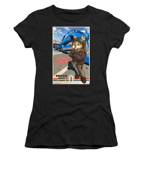 El Gato Volador Women's T-Shirt