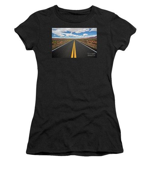 Empty Highway Women's T-Shirt