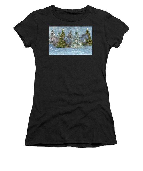 Equine Holiday Spirits Women's T-Shirt