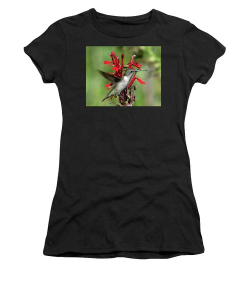 Female Ruby-throated Hummingbird Dsb0325 Women's T-Shirt