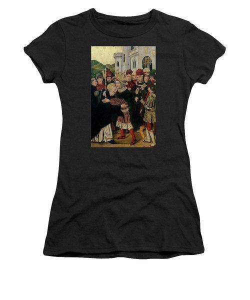 'fernando I De Castilla Acogiendo A Santo Domingo De Silos', 1... Women's T-Shirt
