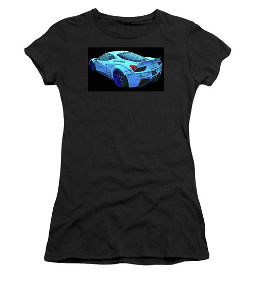 Ferrari 458 Liberty Walk Women's T-Shirt