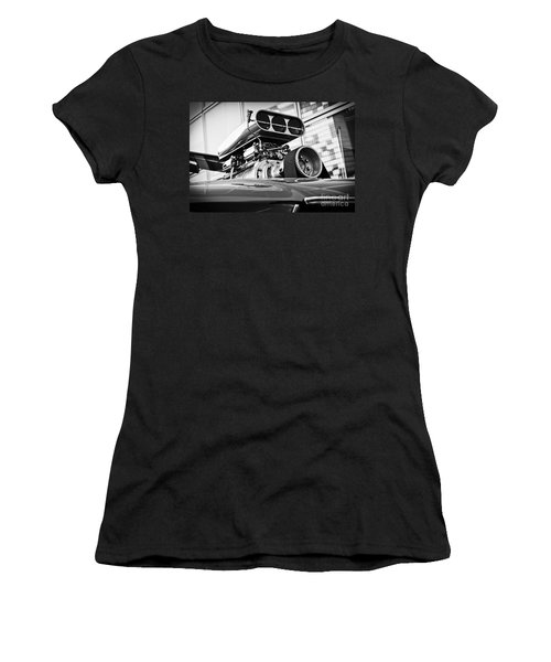 Ford Mustang Vintage Motor Engine Women's T-Shirt