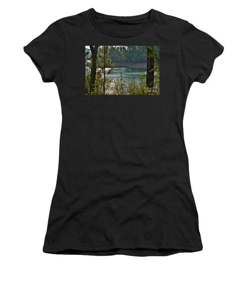 Forest Lake In Amendoa Women's T-Shirt