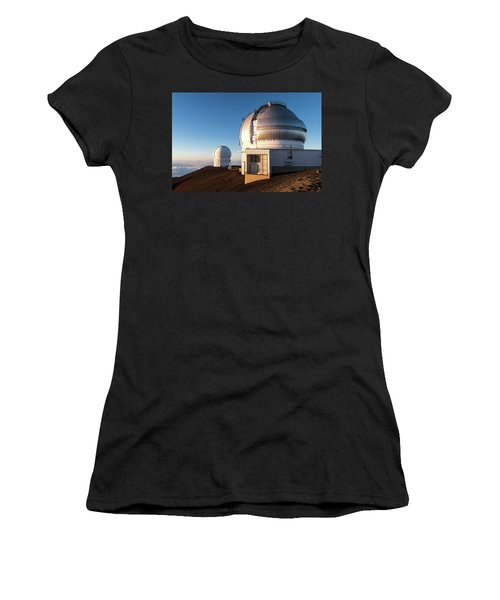 Women's T-Shirt featuring the photograph Gemini Observatory by William Dickman