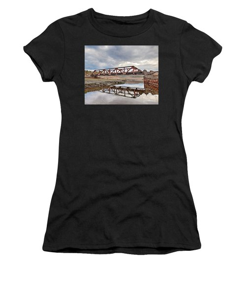 Ghost Bridge - Colebrook Reservoir Women's T-Shirt