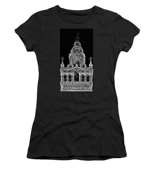 Giralda Tower In Monochrome. Seville Women's T-Shirt