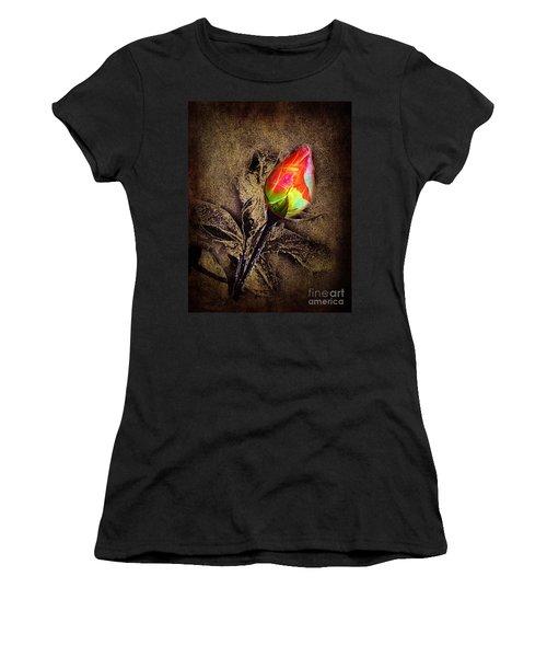 Glowing Rose Women's T-Shirt