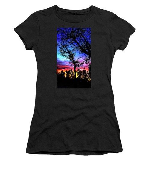 Good Night Leaves In Fall Women's T-Shirt