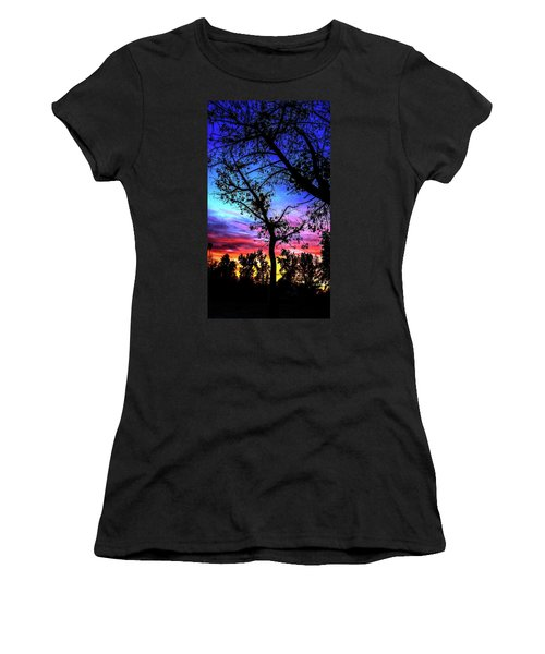 Good Night Leaves In Fall Women's T-Shirt