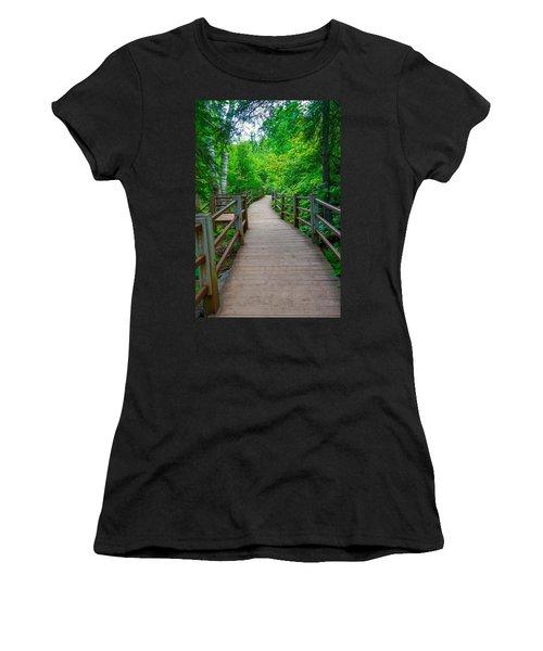 Gooseberry River Trail Women's T-Shirt