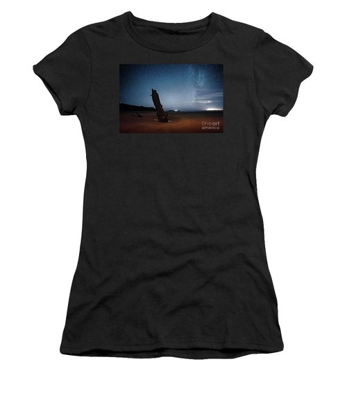 Gower Helvetia At Night  Women's T-Shirt